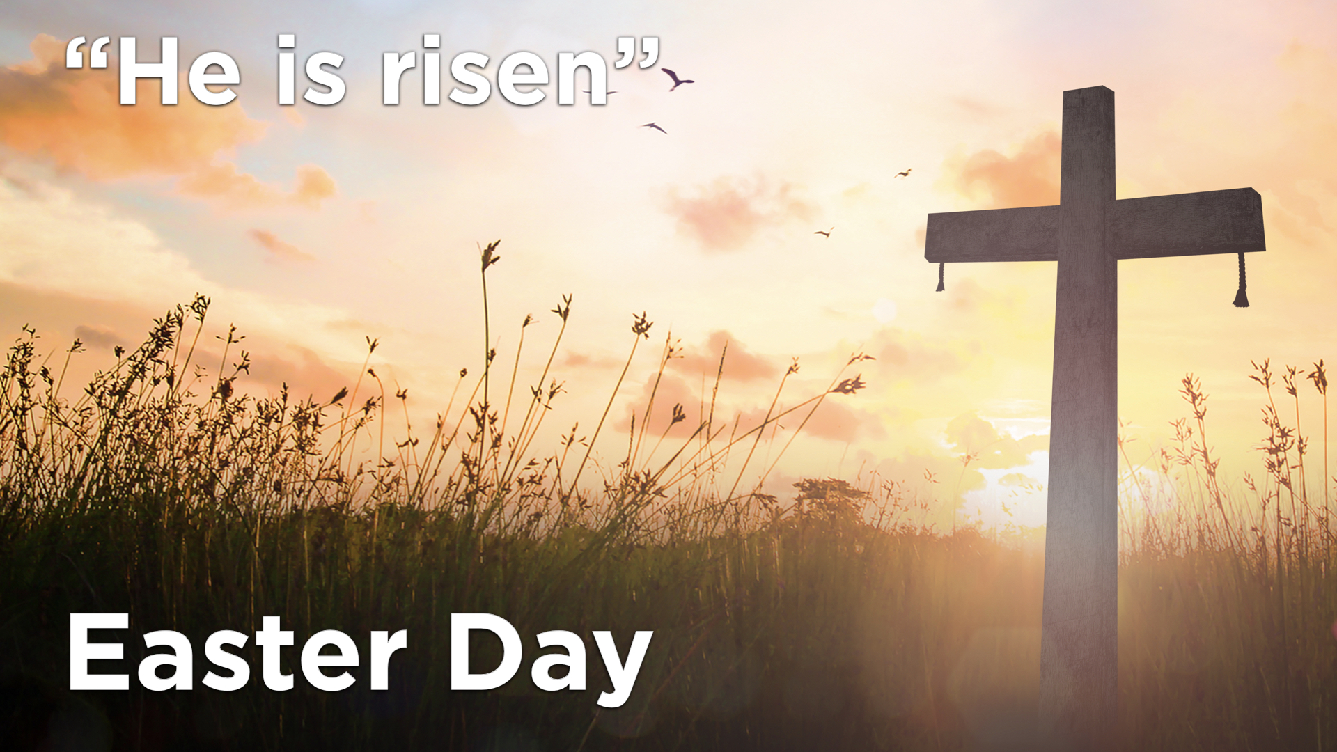 Easter Day Service Online – 4th April 2021