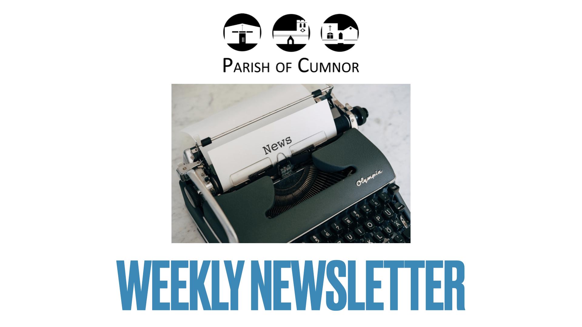 Newsletter for April 25th 2021