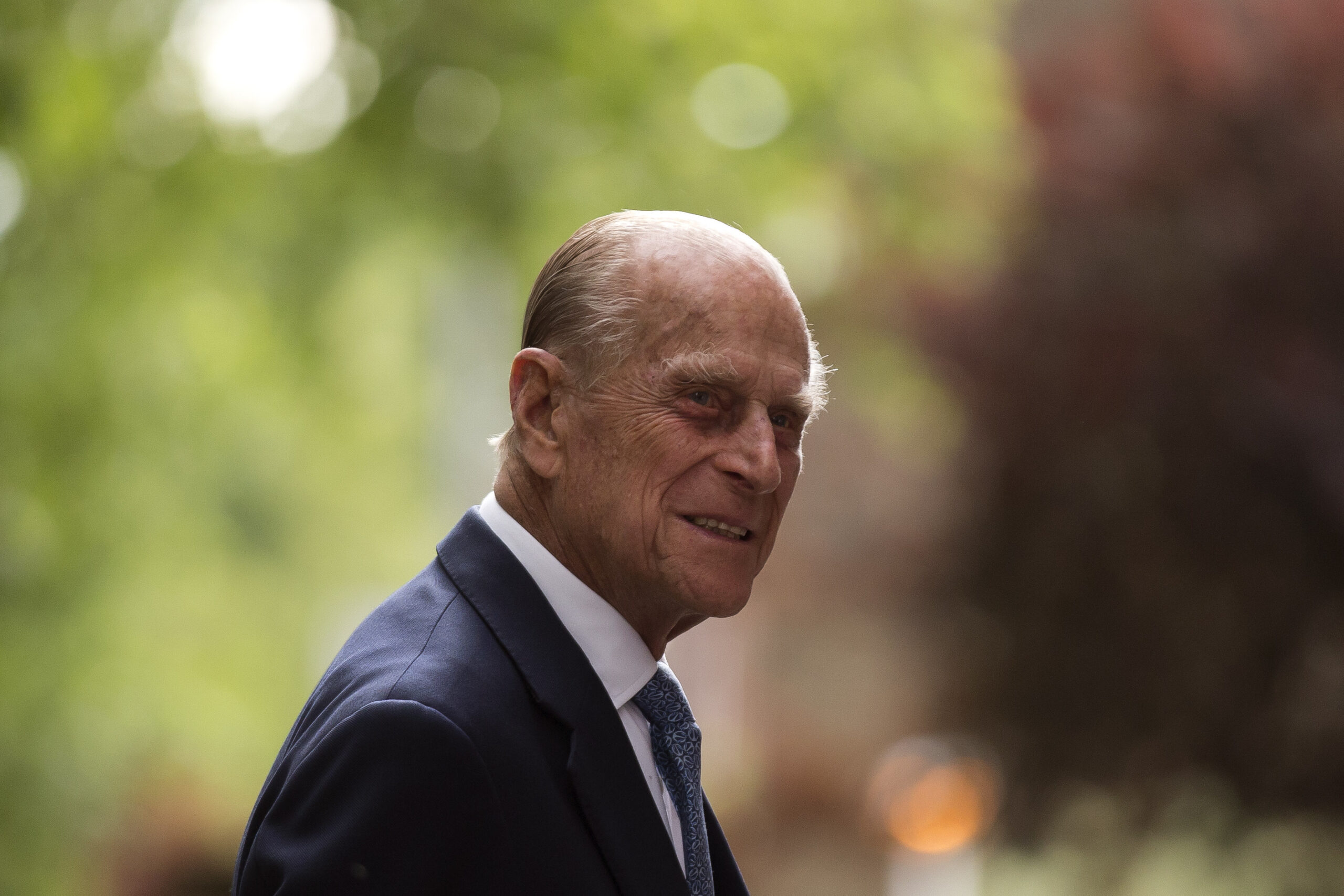 Mourning the death of Prince Philip