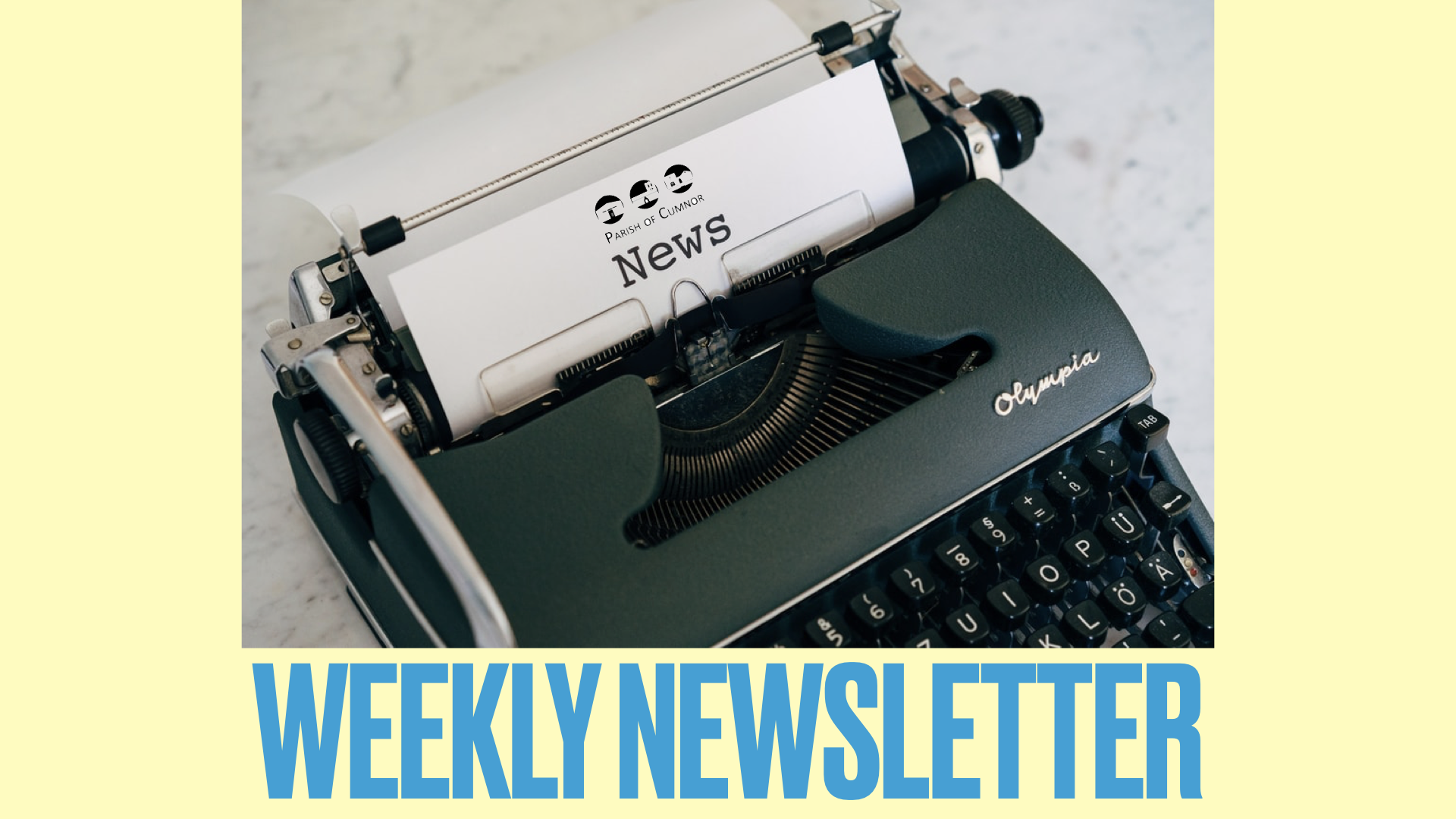 Newsletter for May 30th 2021