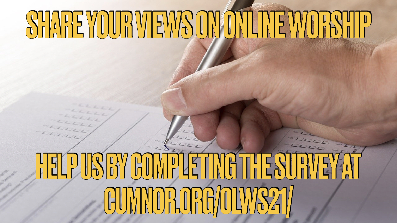 Online Worship Survey 2021