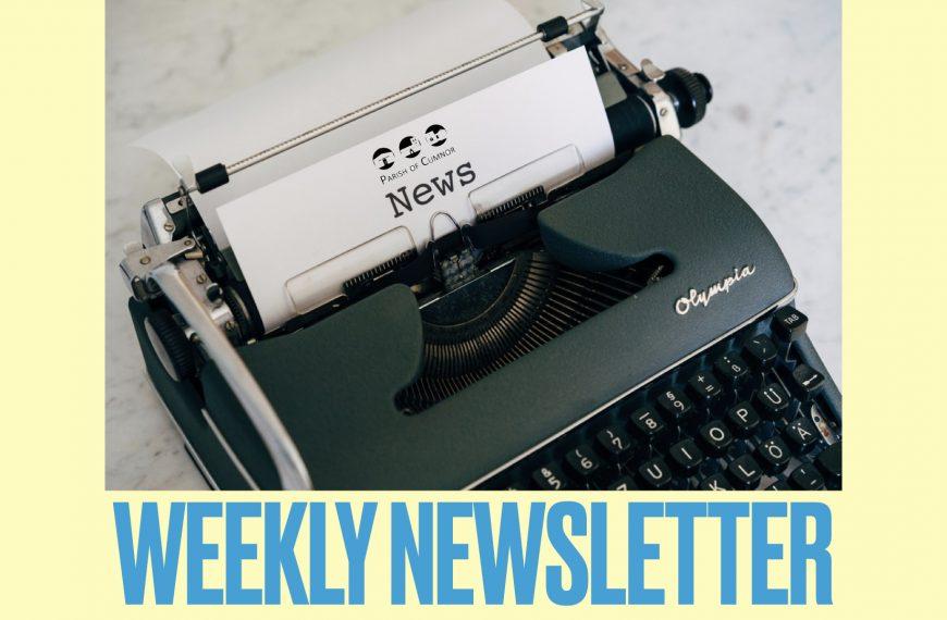 Newsletter for September 19th 2021